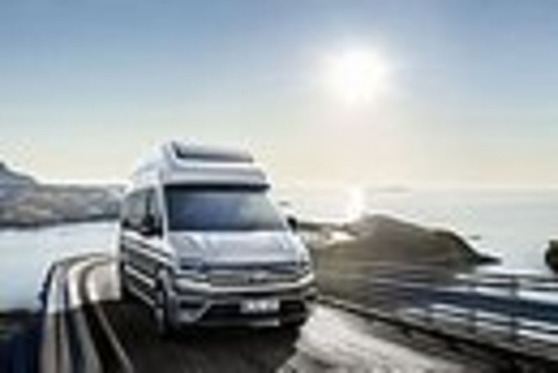 Highlight des Caravan Salon im August: Reisemobilstudie California XXL auf Crafter Basis