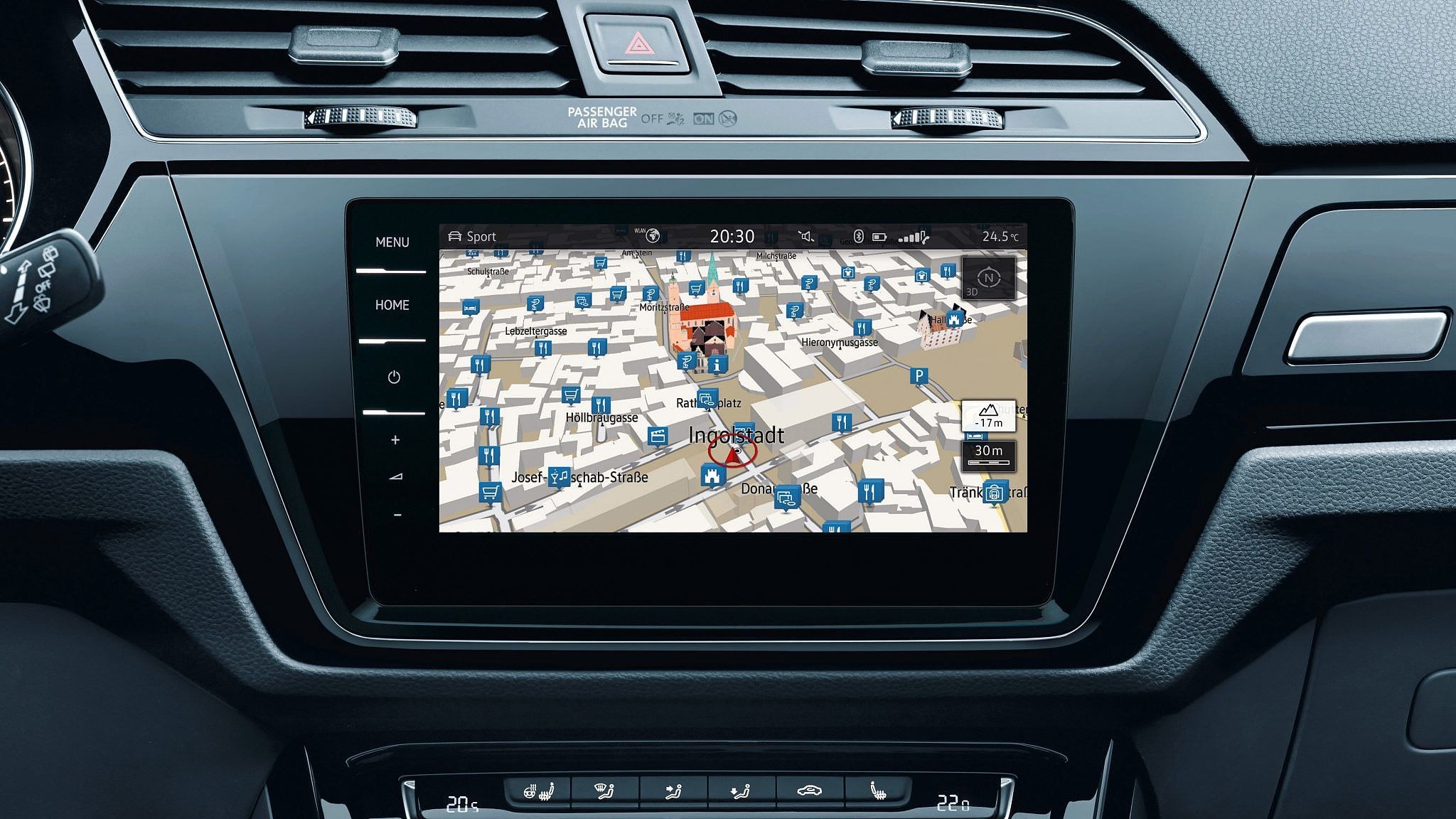 VW Touran Highline Konfigurator: Navigationssystem