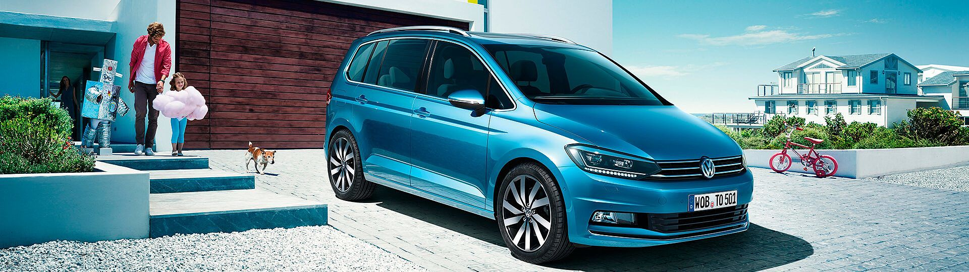 VW Touran Highline Konfigurator
