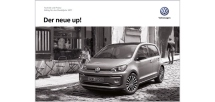 VW up! Preisliste & Technik